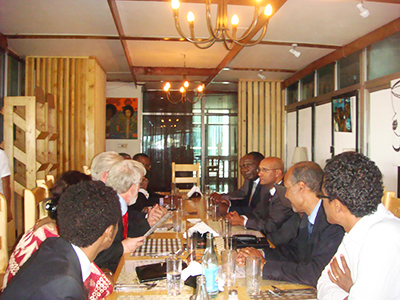 Lunch meeting for the Launching of the African Law Library
